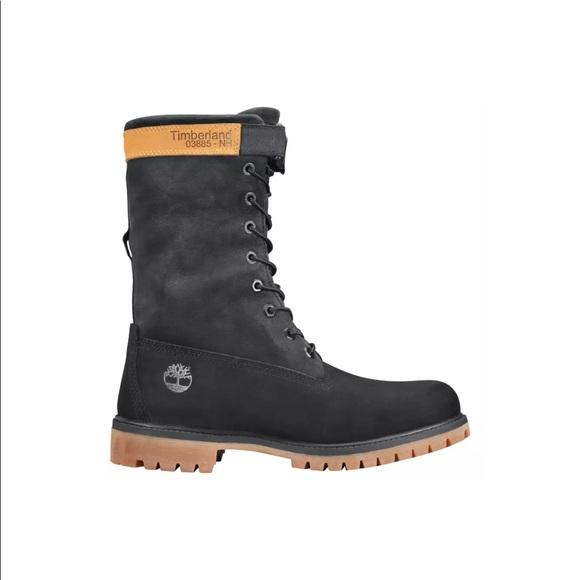 2dcb7ce2b3554 Timberland Shoes   6 Inch Premium Mixed Media Gaiter Boot   Poshmark